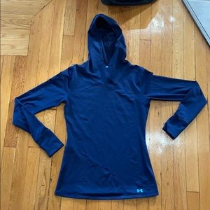 Fitted Under Armour Cold Gear Hoodie